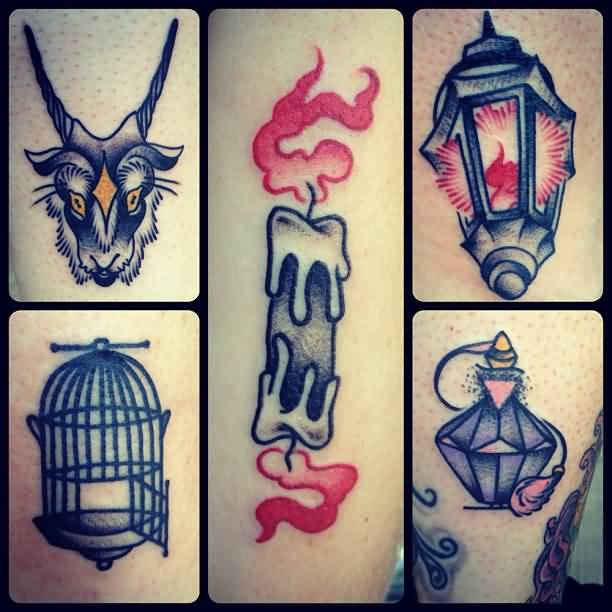 Nice And Amazing Samples For Lantern Tattoo