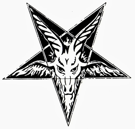 Nice And Amazing Satan Symbol Tattoo Design Idea