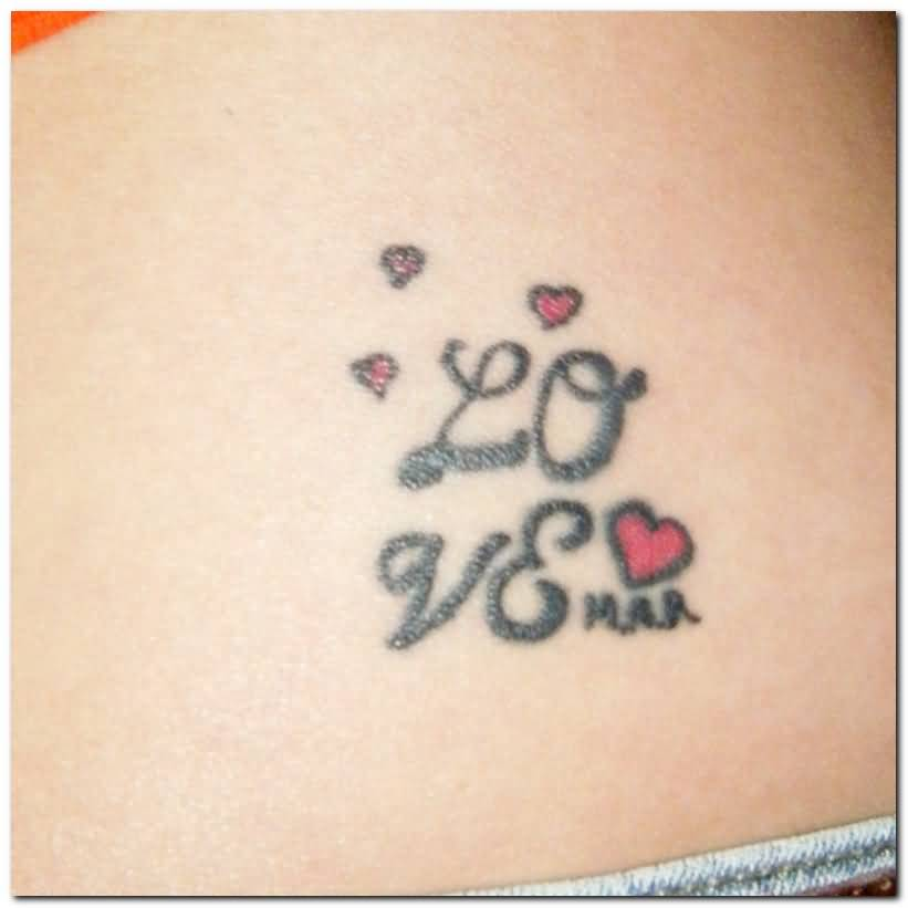 Nice Heart Amazing Love Tattoo Design Idea