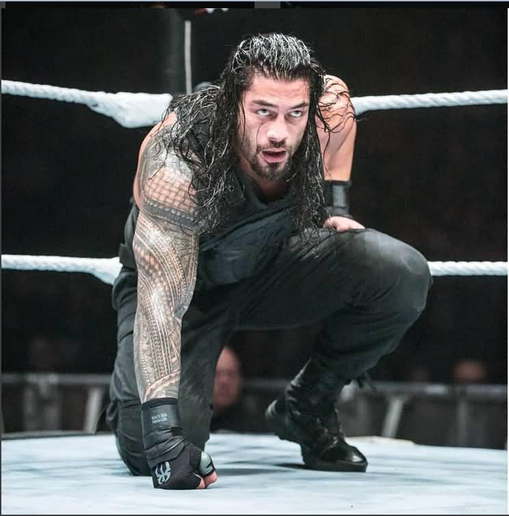 Roman Reigns Full Sleeve Tribal Awesome Grey Ink Samoan Tattoo