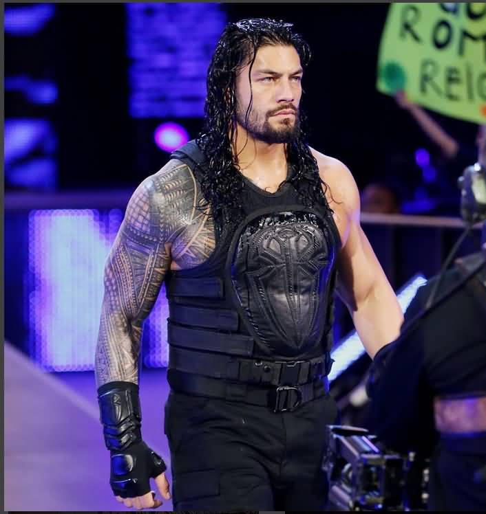 Roman Reigns Full sleeve Awesome Samoan Tattoo