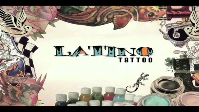 Simple Logo Of Latino Tattoo