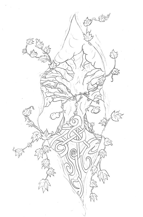 Simple Pagan Tattoo Design