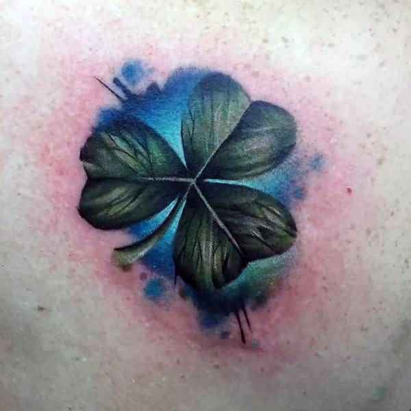Simple Shamrock Tattoo Design Idea