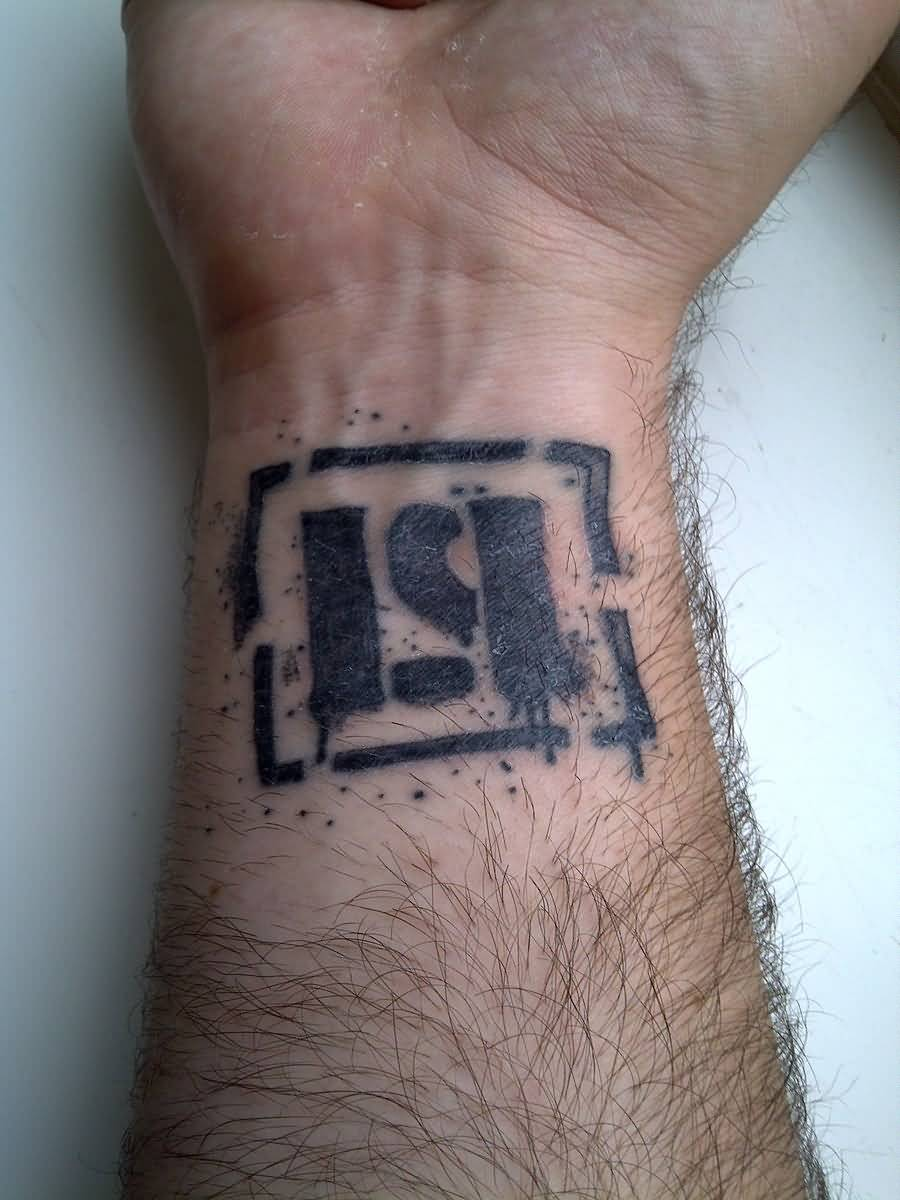 Simple Wrist Amazing Linkin Park Tattoo Of Symbol
