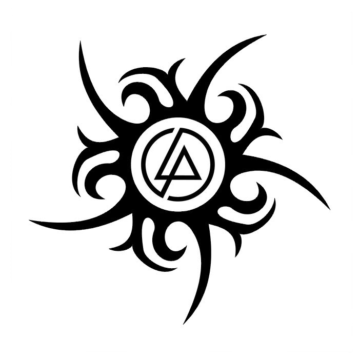 Tribal Linkin Park Black Ink Latest Symbol Tattoo