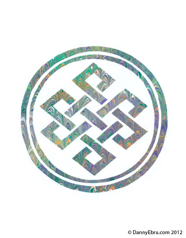 Unique Style Endless Knot Tattoo Design By Lucid