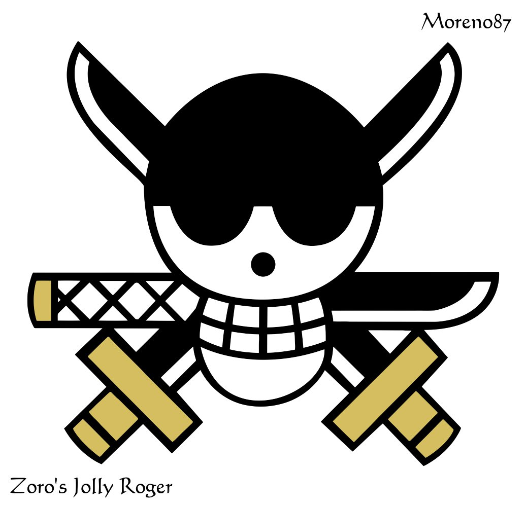Wonderful And Simple Jolly Roger Tattoo