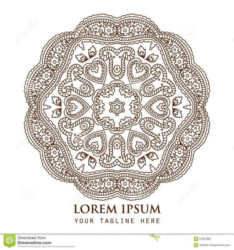 Wonderful Paisley Pattern Tattoo Design Idea (2)