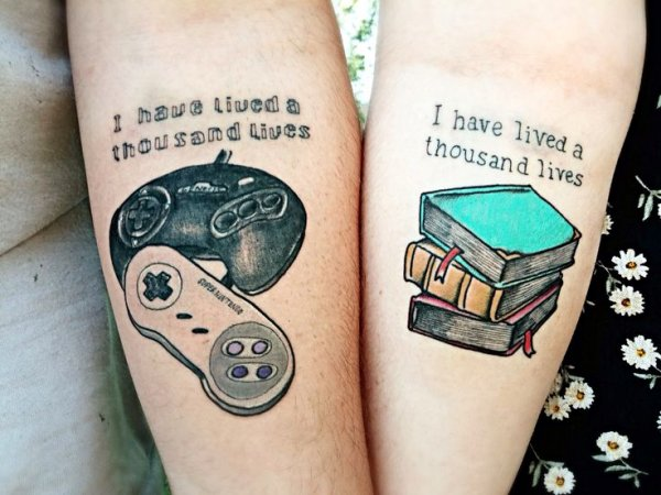 game love tattoo