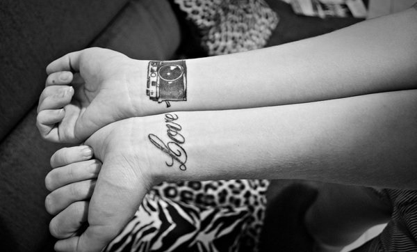 love you tattoo