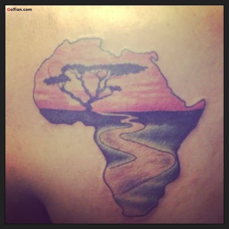 Adorable African Tattoo