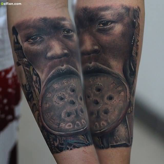 African Tattoo For Boy