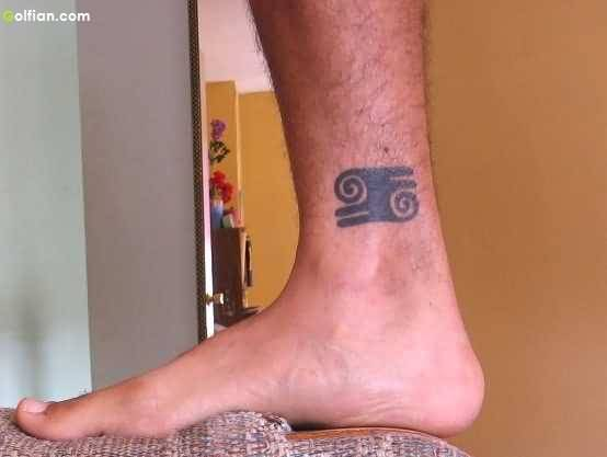 Ankle African Tattoo