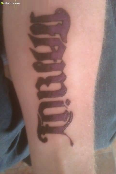 Attractive Ambigram Tattoos