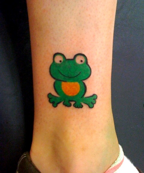 Crazy Frog Baby Tattoo