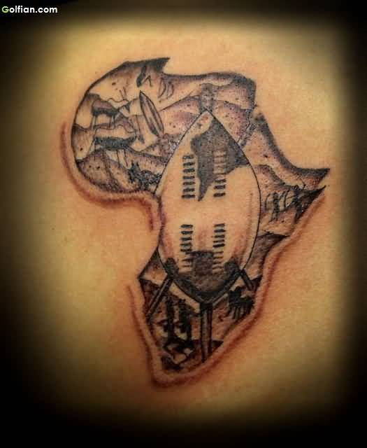 Exclusive African Tattoo
