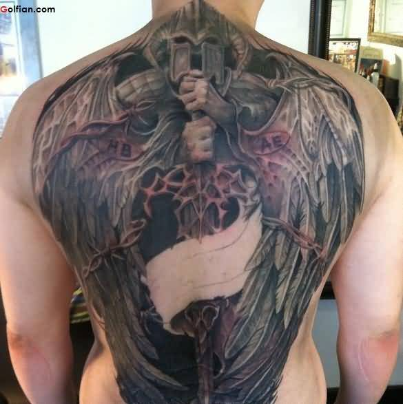 Extremely Angel Tattoo
