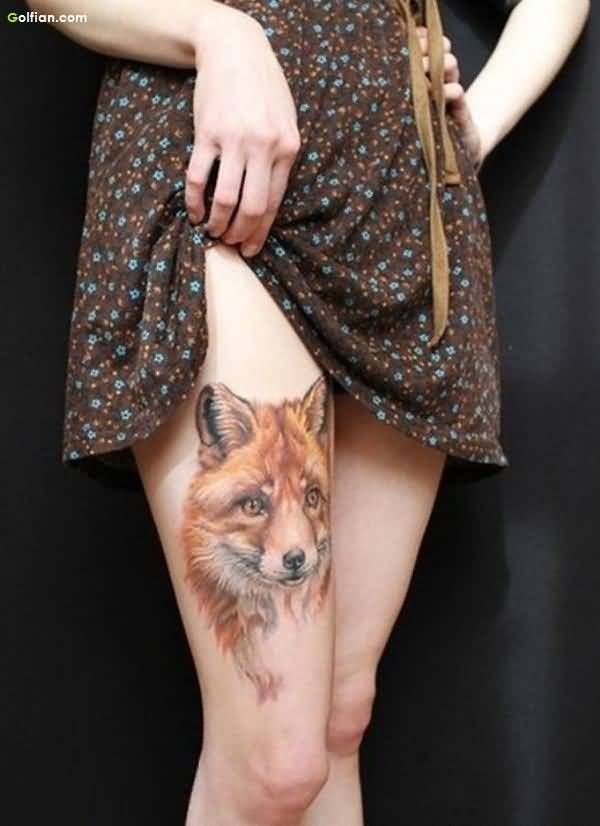 Fox African Tattoo