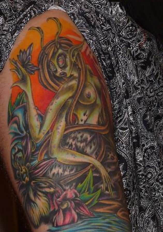 Great Alien Tattoo