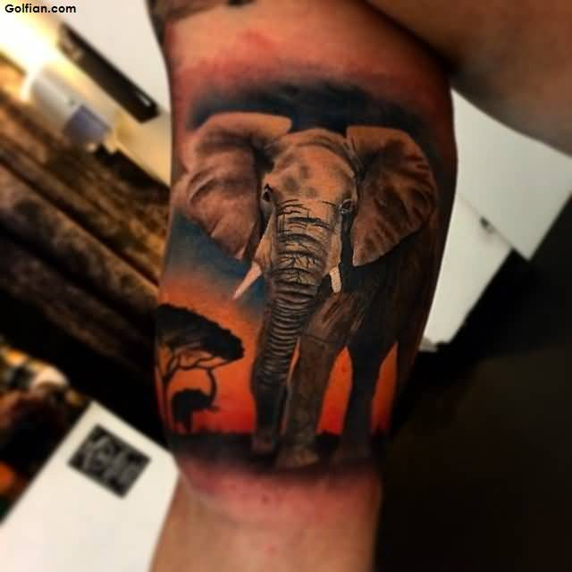 Great Wild African Tattoo