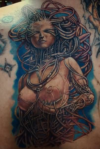 Horrible Female Alien Tattoo