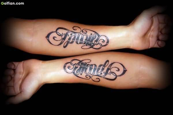 Innovative Ambigram Tattoos