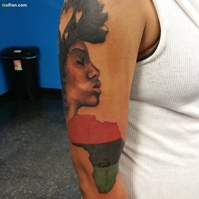 Latest African Tattoo