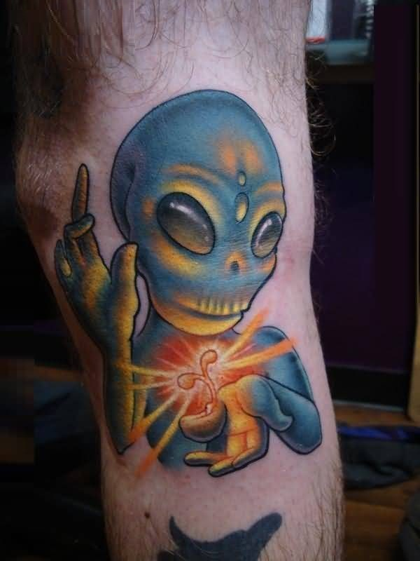 Magical Alien Tattoo