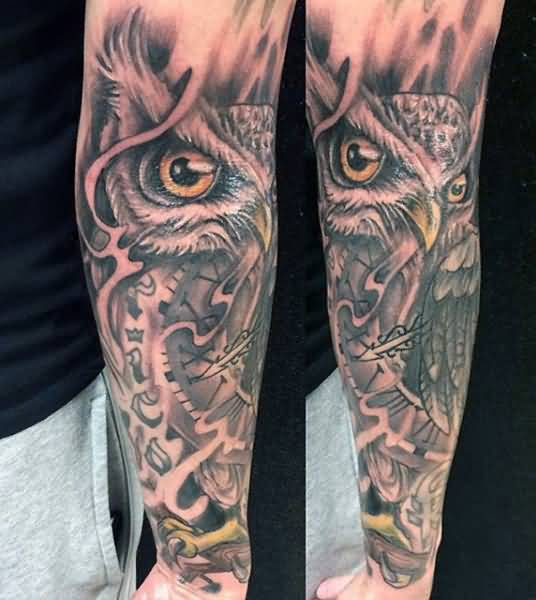 Oldest Owl Tattoo