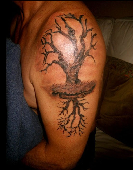 Outstanding Tree Tattoo (2)