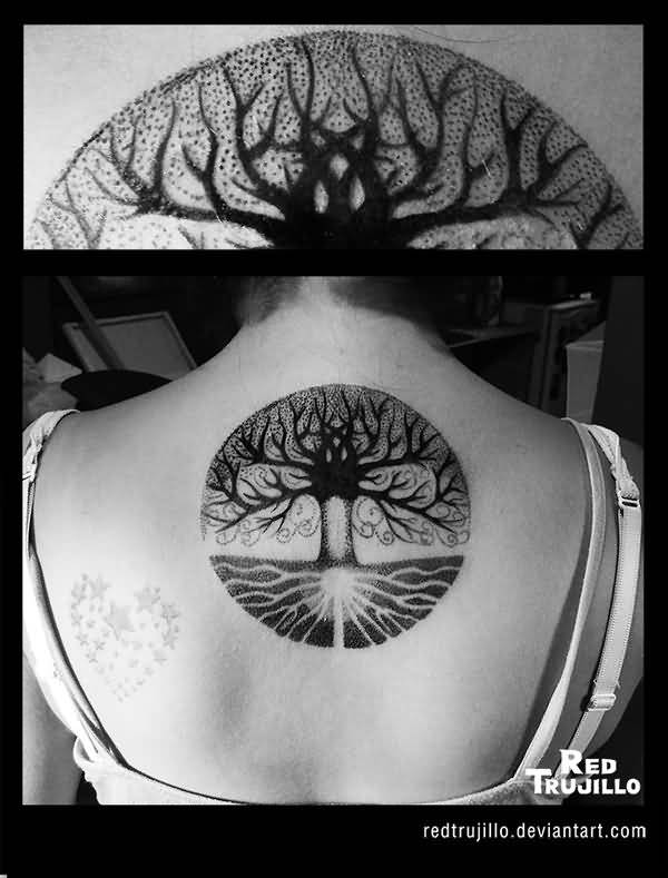 Simple Tree Tattoo (3)
