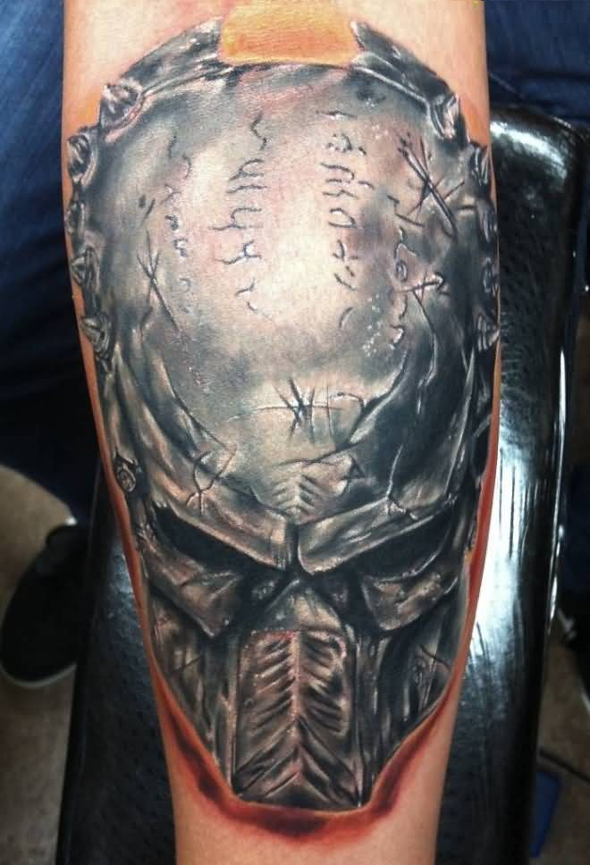 Stunning Alien Tattoo