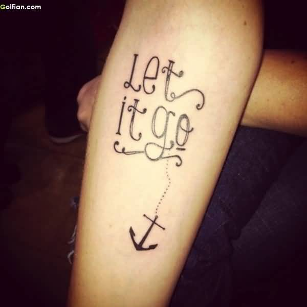 Stunning Anchor Tattoo