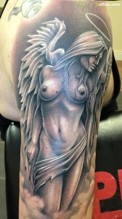 Superb Angel Tattoo