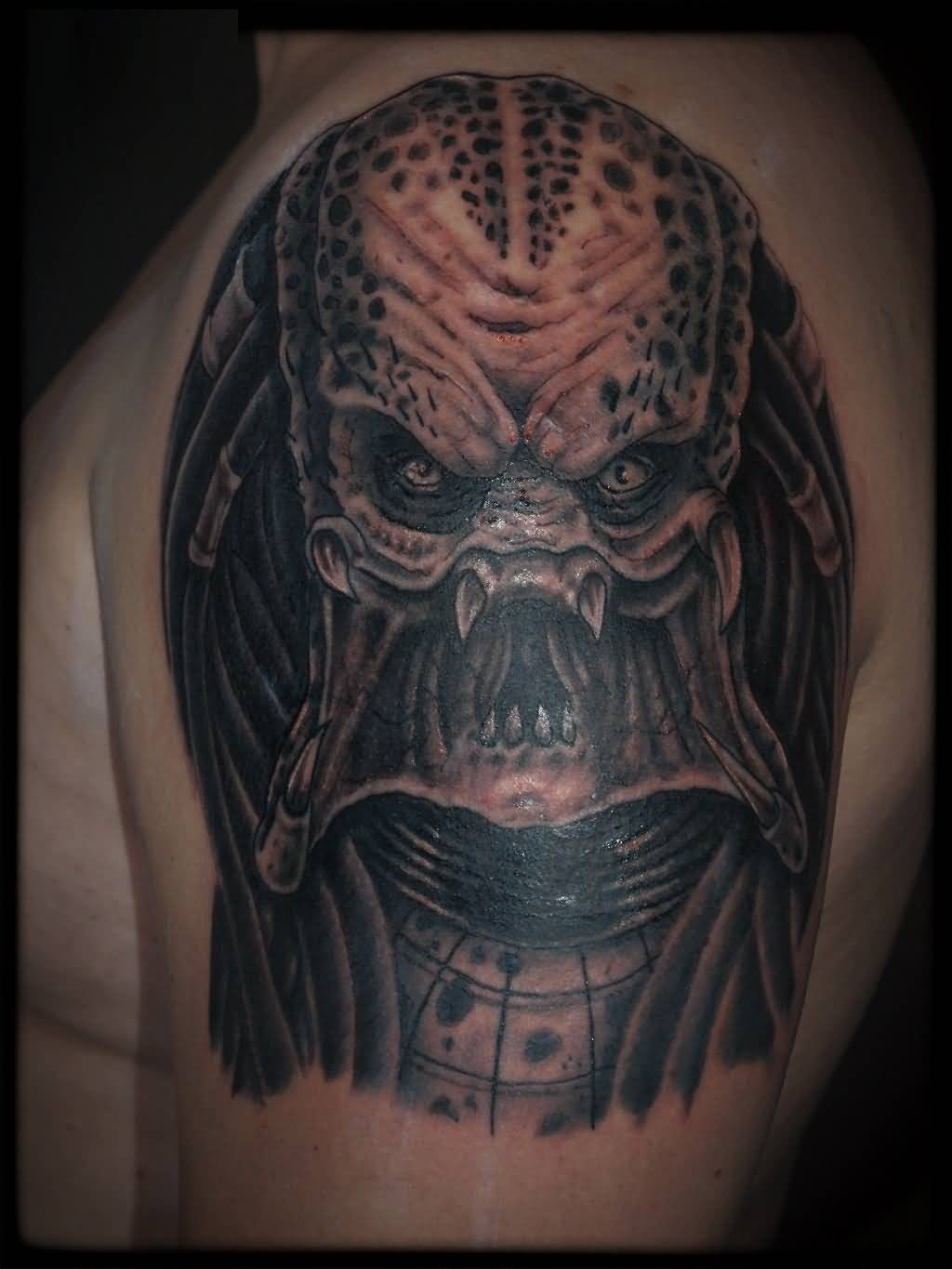 Terrific Alien Tattoo