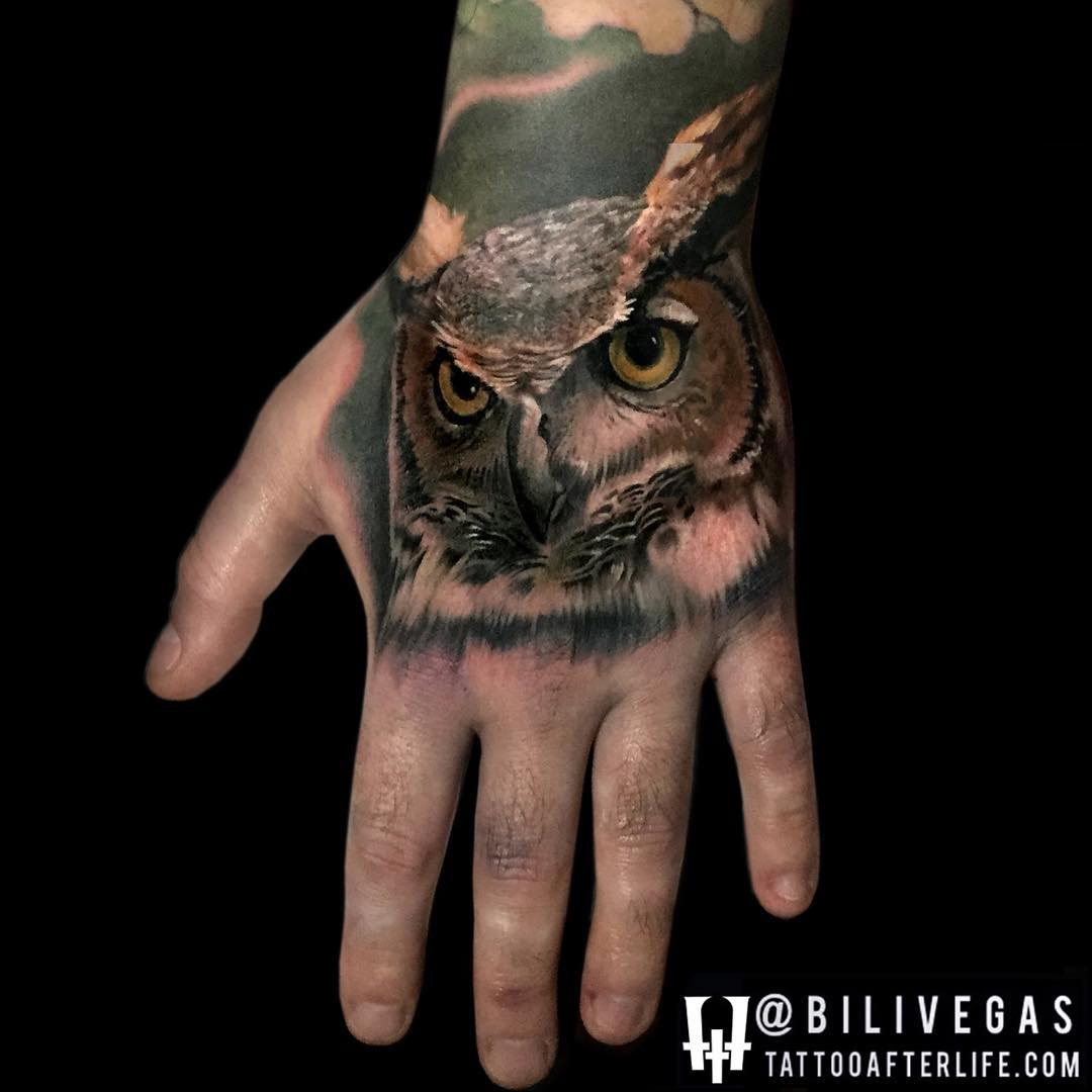 Terrific Owl Tattoo