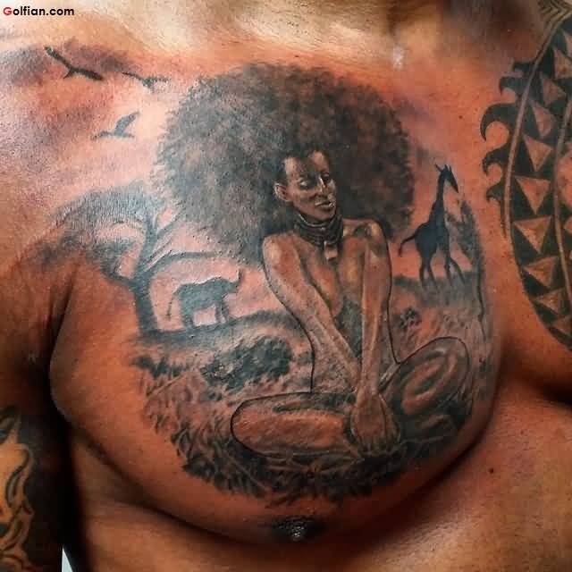 Traditional African Tattoo
