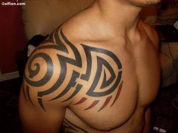 Tribal Black African Tattoo