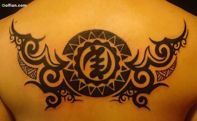Tribal Symbol African Tattoo