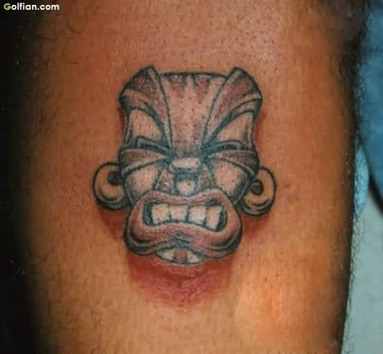 Ugly African Tattoo