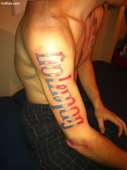 Wonderful Ambigram Tattoos