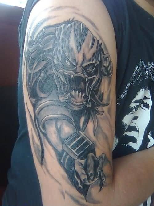 Worst Face Alien Tattoo