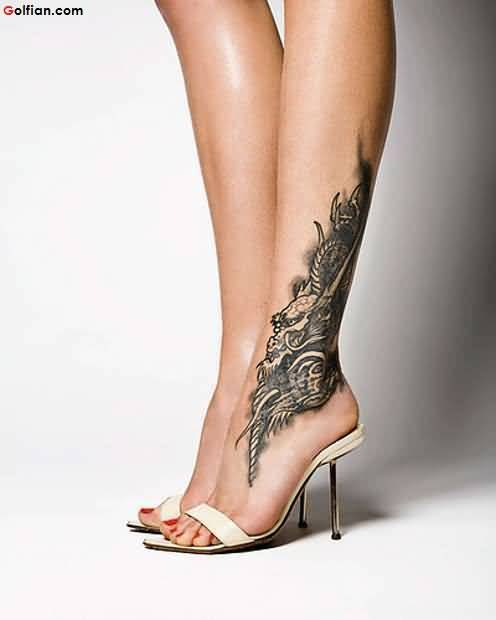 Extremely Best Ankle Tattoo
