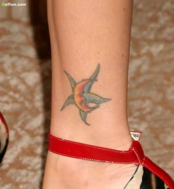Lovely Ankle Tattoo
