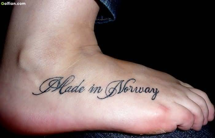 Sweet Ankle Tattoo