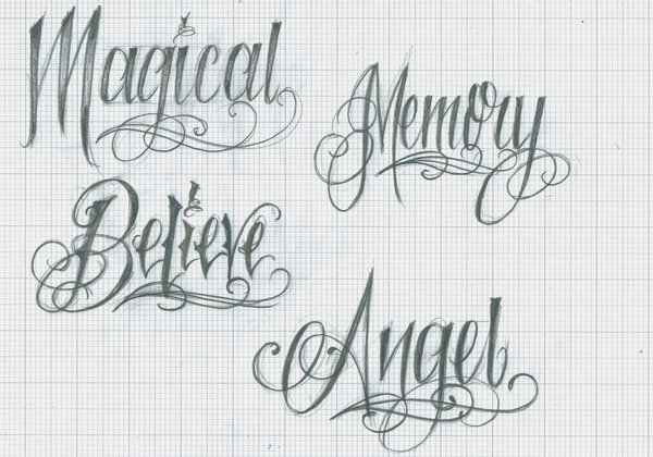 Lettering Tattoos Designs And Ideas Page 49